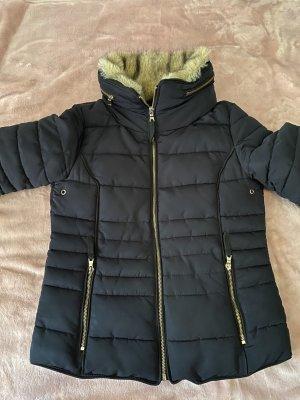 Pimkie Fake Fur Jacket dark blue