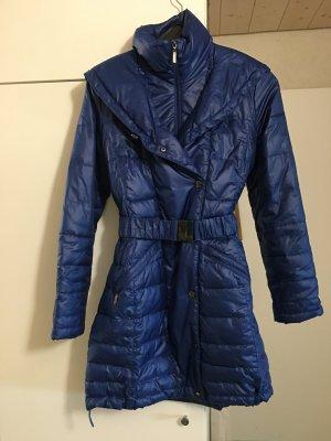 Orsay Abrigo con capucha azul Poliéster