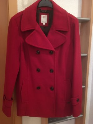 s.Oliver Wool Jacket red