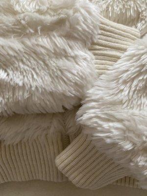 Kenvelo Futrzana kurtka biały