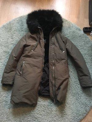 Winterjacke Kunstfell Zara
