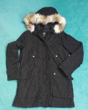 Winterjacke lange Jacke mit Fell Gr.36 w. Neu
