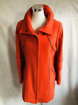 Damo Wełniany sweter pomarańczowy