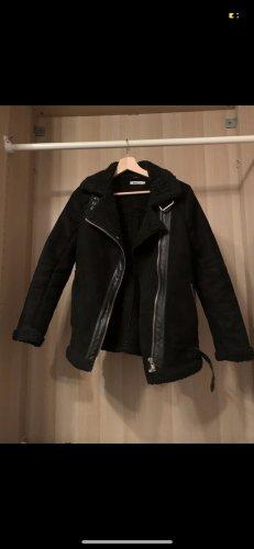 Gina Tricot Płaszcz zimowy czarny