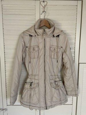 Winterjacke Mantel beige Gr. 38 s'questo