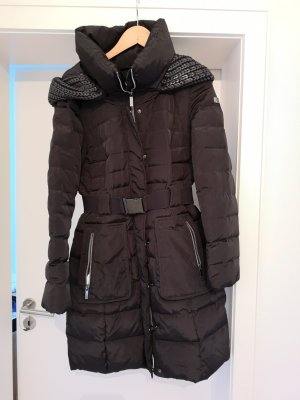 Winterjacke MEXX dunkelbraun/anthrazit GR 36 60€