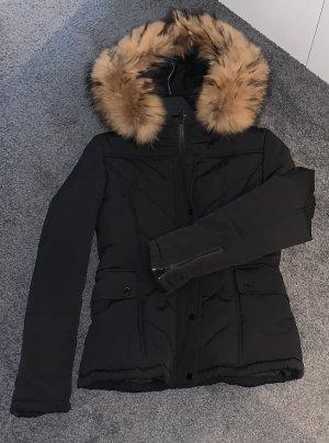 Attentif Veste d'hiver noir