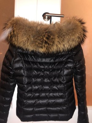 Winterjacke mit XXL Fell