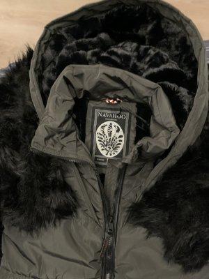 Navahoo Veste d'hiver noir-gris