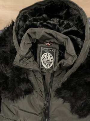 Navahoo Winter Jacket black-grey