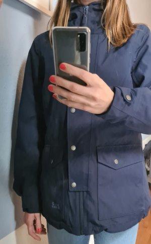 Jack Wolfskin Winter Jacket dark blue