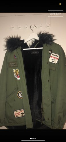 Winterjacke Patches