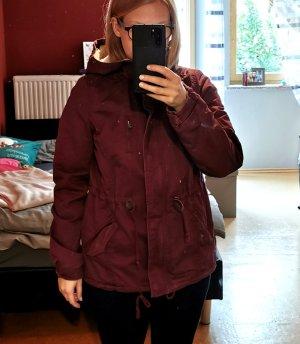 H&M Kurtka zimowa purpurowy