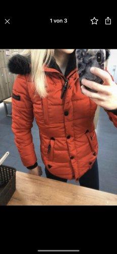 Mariko Fur Jacket red