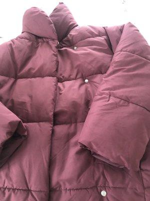 H&M Kurtka zimowa brązowo-fioletowy