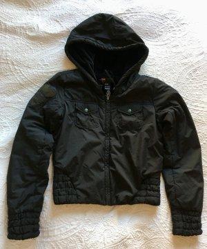 Diesel Veste d'hiver noir polyester