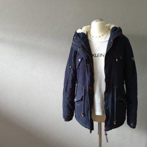Winter Jacket dark blue-blue