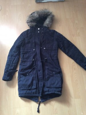 Tom Tailor Denim Winter Coat dark blue