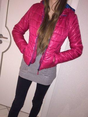 Alcott Winter Jacket raspberry-red-neon blue polyester