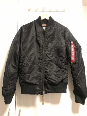 Alpha Industries Chaqueta de aviador negro