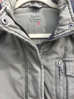 Big Star Winter Jacket grey brown