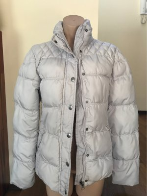 edc Quilted Jacket silver-colored-light grey