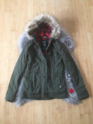 Hollister Kurtka zimowa khaki