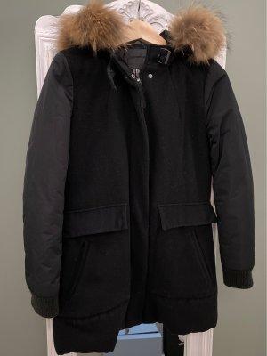 Winterjacke von Hox mit Kapuze und Felleinsatz