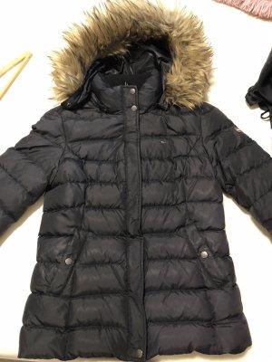 Winterjacke von Tommy Hilfiger in schwarz