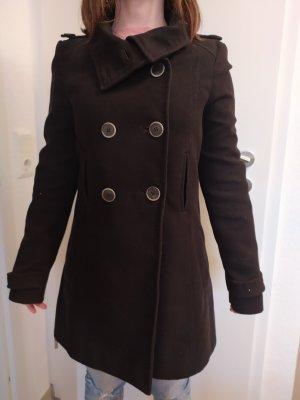 Zara Woman Kurtka zimowa czarny
