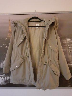 H&M Płaszcz zimowy Wielokolorowy