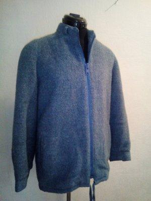 Vintage Kurtka zimowa szary niebieski