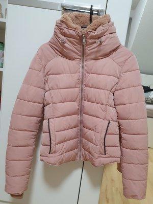 Winterjacke Zara || Gr. M || altrose/rose