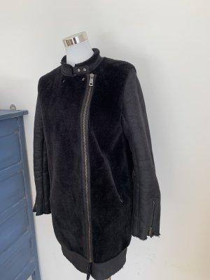 Winterjacke Zara S 34 36 schwarz Jacke