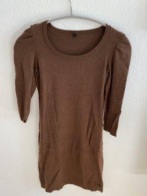 Pimkie Vestido tipo jersey marrón