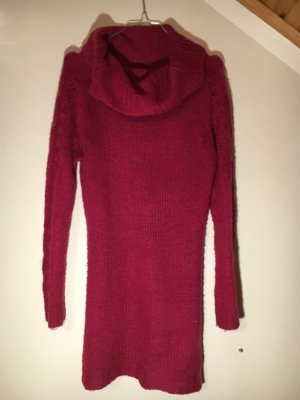 Crazy Outfits Longsleeve Dress dark red polyacrylic