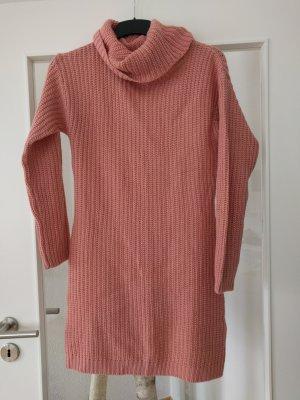 Ohne Vestido de lana rosa empolvado