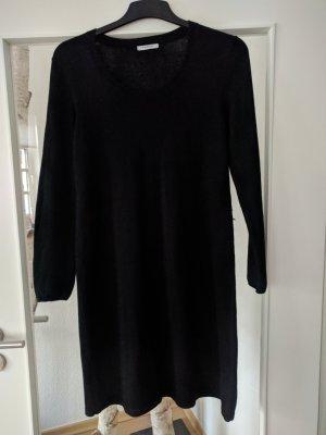 Public Robe en laine noir