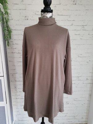 ohne Etikett Abito maglione marrone-grigio