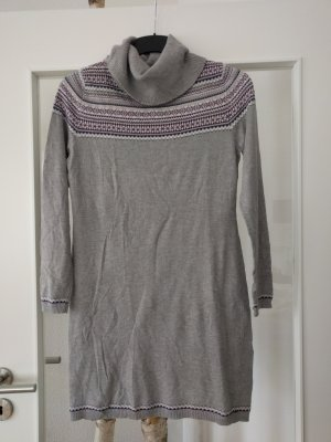 Ohne Vestido de lana gris claro