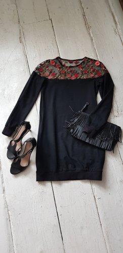 Sukienka dresowa czarny