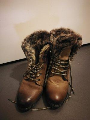 winterliche cosy boots