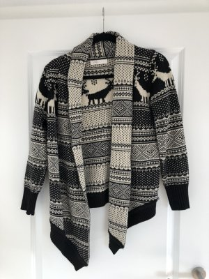 Winterlicher Cardigan Norweger Muster