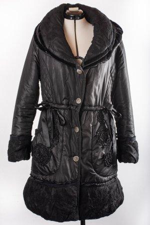alexo Short Coat black polyester