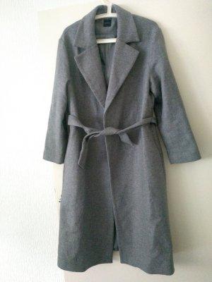 Promod Cappotto in lana grigio Lana