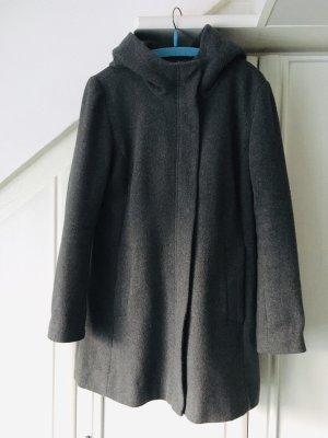 C&A Clockhouse Cappotto con cappuccio grigio