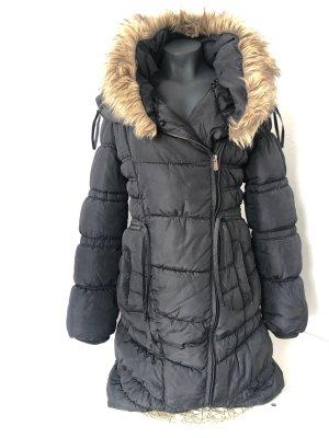 Sublevel Fake Fur Coat multicolored
