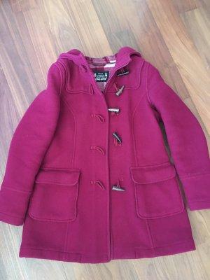 C&A Manteau à capuche bordeau
