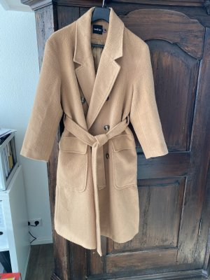Boohoo Winter Coat camel