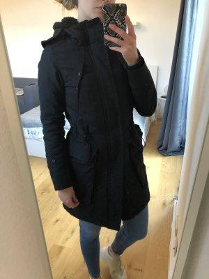 G-Star Płaszcz z kapturem czarny